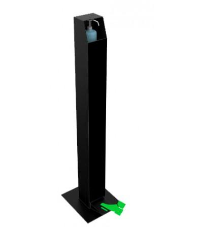 distributeur-pédale-support-gel-hydroalcoolique-