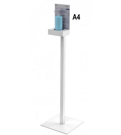 pied-metal-gel-distributeur-hydroalcoolique