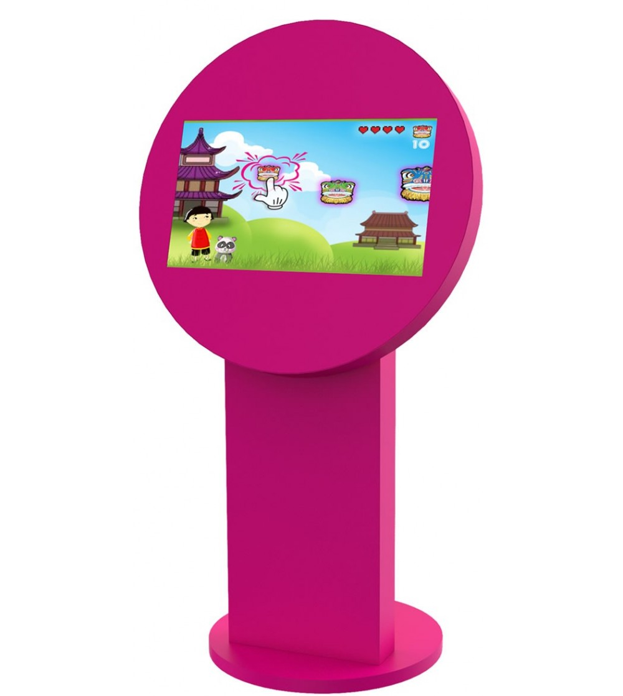 borne-tactile-enfant-dixy-jeux-rose