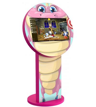 borne-tactile-enfant-dixy-jeux-serpent