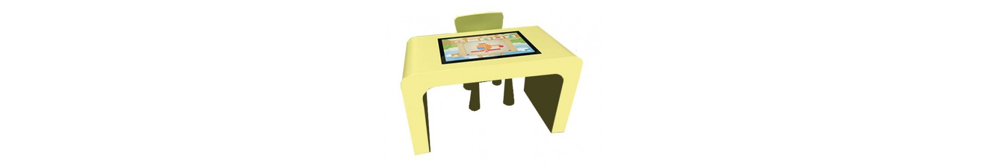 Bornes,tables interactives enfants